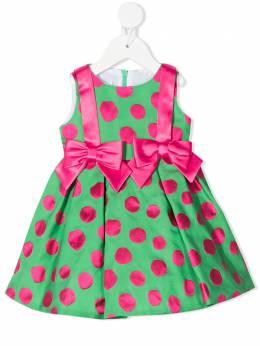 Colorichiari расклешенное платье в горох FN1058314062