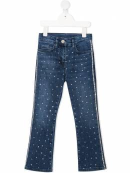 Monnalisa декорированные джинсы кроя слим 797401A37032