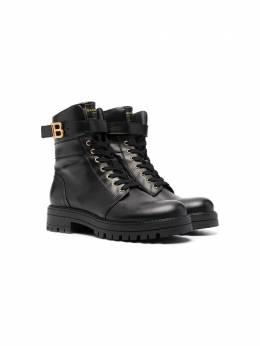 Balmain Kids ботинки на шнуровке 6O0146OX520