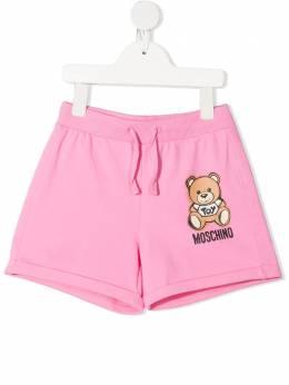 Moschino Kids шорты Toy Bear HDQ007LDA13
