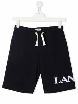 Lanvin Enfant спортивные шорты с логотипом N24017