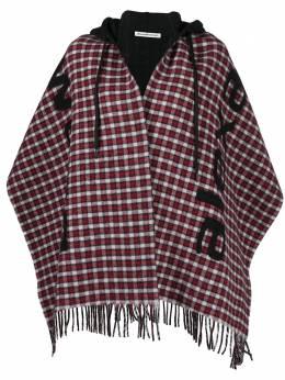 Alexander Wang клетчатый шарф вязки интарсия 4WC2209000