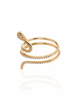 Rosa De La Cruz золотое кольцо с бриллиантами SNK100118KYELLOW