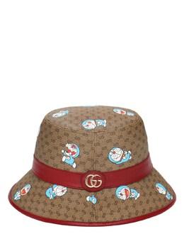 Шляпа Из Канваса Cny Doraemon Gucci 73IIJS093-ODU3NA2