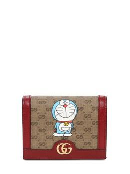 Бумажник Из Канвас Cny Doraemon Gucci 73IIJS091-ODU4MA2