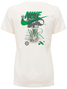 Футболка Из Хлопка Earth Day Nike 73IDLC006-OTAx0