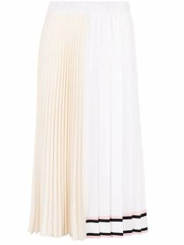 No. 21 fully-pleated A-line skirt 21EN2M0C0425080