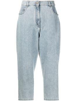 Fabiana Filippi укороченные джинсы с эффектом потертости PAD271W3540000F290