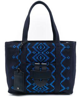 Tila March сумка-тоут с вышивкой TMZC22BROD1