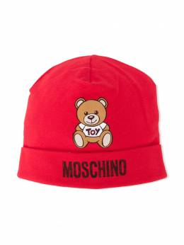 Moschino Kids шапка с принтом Teddy Bear MRX031LDA14