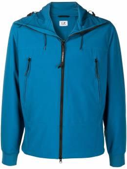 C.P. Company Google-embellished hooded jacket 10CMOW013A005968A