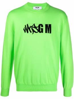 MSGM джемпер с логотипом 3040MM110217073
