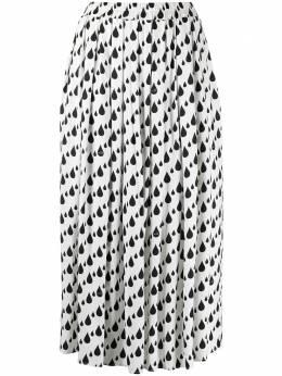 Love Moschino плиссированная юбка с принтом WGE6500T089A