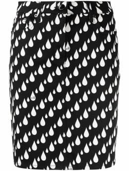 Love Moschino юбка с принтом WGE7700S3505