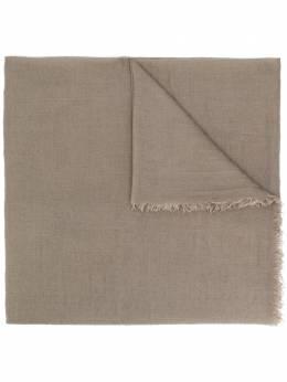 Rick Owens объемный шарф с бахромой RU20F3462