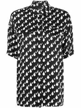 Love Moschino рубашка с принтом WCD9400T089A