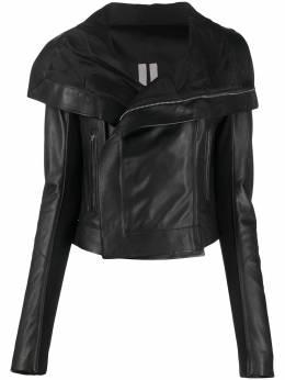 Rick Owens куртка с широким воротником RP21S3708LC