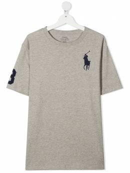 Ralph Lauren Kids TEEN embroidered-logo cotton T-Shirt 323832907021