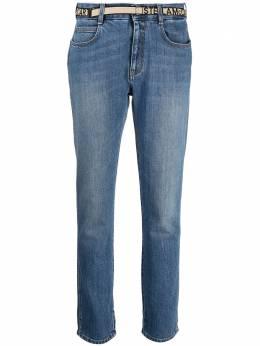 Stella McCartney джинсы кроя слим с логотипом 372773SNH54