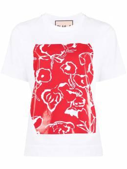 Plan C футболка с глянцевым принтом THCJA01S17TJ002
