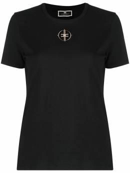 Elisabetta Franchi футболка с логотипом MA25N11E2