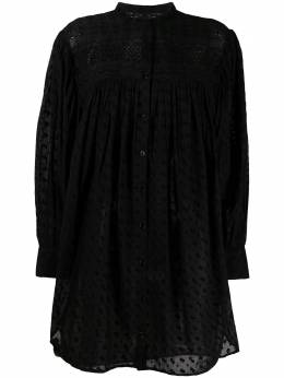 Isabel Marant Etoile платье-рубашка миди с длинными рукавами RO192821P032E