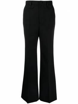 Gucci расклешенные брюки строгого кроя 643346ZAFU9