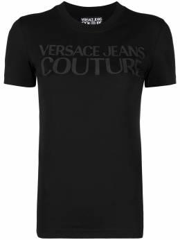 Versace Jeans Couture футболка с логотипом B2HWA7TA30454