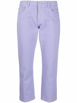 MSGM прямые джинсы средней посадки с логотипом 3041MDP46TX217282