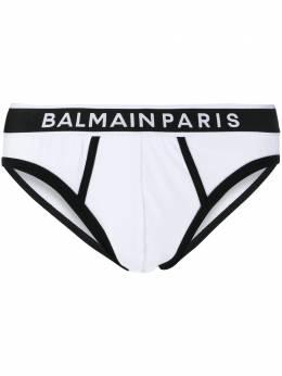 Balmain трусы-брифы с логотипом BRL615200