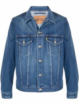 Doublet джинсовая куртка с графичным принтом 21SS06BL115