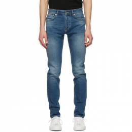 Givenchy Blue Slim-Fit Jeans BM50SK509X400
