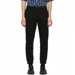 Kenzo Black Tiger Crest Lounge Pants FB55PA7114ML