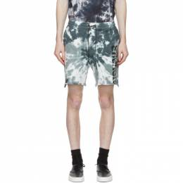 Stolen Girlfriends Club Blue Tie-Dye Arch Hill Shorts C4-20509