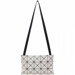 Bao Bao Issey Miyake Off-White Lucent Messenger Bag BB16AG687