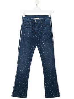 Monnalisa декорированные джинсы 797401A37032