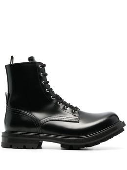 Alexander McQueen ботинки на шнуровке 651621WHZ80