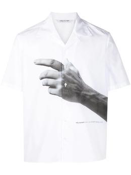 Neil Barrett рубашка с короткими рукавами и принтом PBCM1469DQ008S