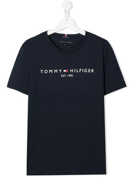 Tommy Hilfiger Junior футболка с логотипом KB0KB05844C87C87