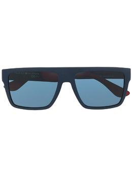 Tommy Hilfiger солнцезащитные очки в квадратной оправе с логотипом TH1605SIPQKU