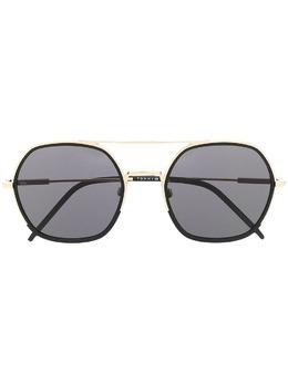 Tommy Hilfiger солнцезащитные очки-авиаторы TH1714FSJ5GIR