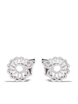 Chopard серьги из белого золота с бриллиантами 8483491001