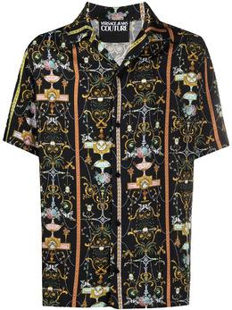 Versace Jeans Couture рубашка с принтом Baroque B1GWA6B0S0988