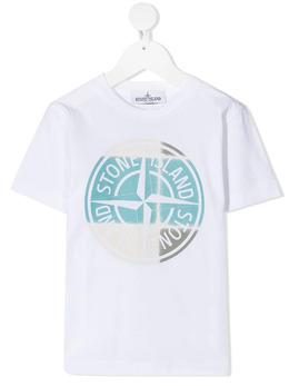 Stone Island Junior футболка с логотипом 741621052
