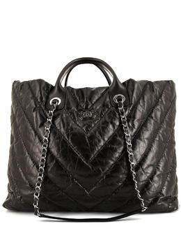 Chanel Pre-Owned стеганая сумка-тоут Grand Shopping 371579