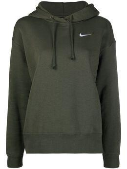 Nike худи с отделкой в рубчик с вышитым логотипом CZ2590