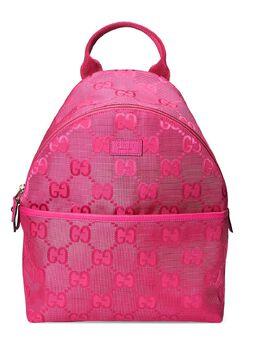 Gucci Kids рюкзак с логотипом GG 271327H9HRN