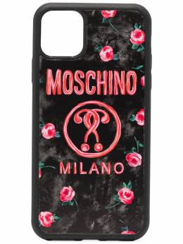 Moschino чехол Double Question Mark для iPhone 11 Pro Max A79638301