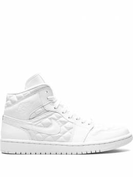 Jordan кроссовки Air Jordan 1 Mid 'Quilted White' DB6078100
