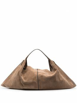 Brunello Cucinelli suede hobo tote bag MBFXD2256C7886